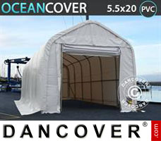 Leichtbauhalle Oceancover 5,5x20x4,1x5,3m PVC