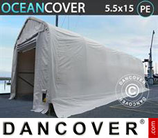 Leichtbauhalle Oceancover 5,5x15x4,1x5,3m